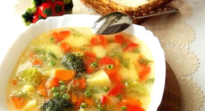 Овощной суп для детей рецепт с пошагово