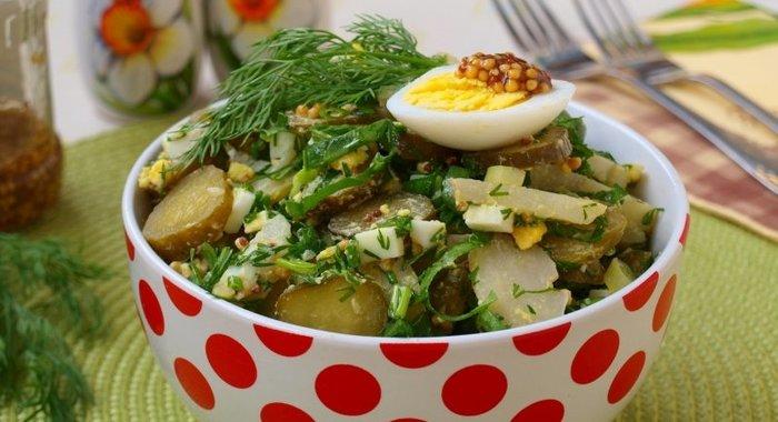 Кулинария вкусные и простые салаты