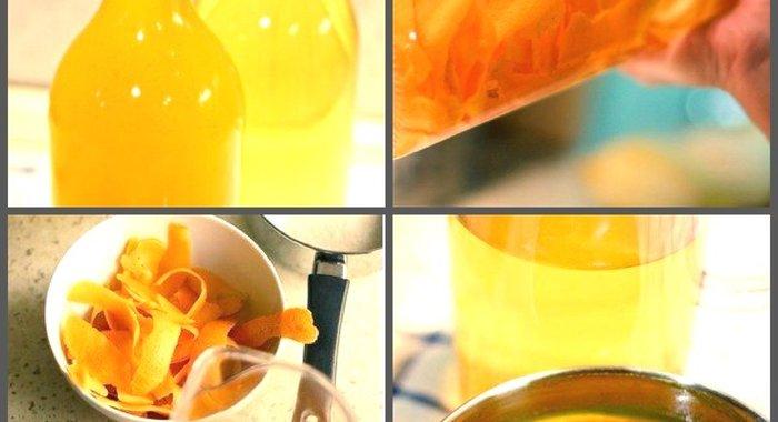Ликер из апельсинов в домашних условиях простой рецепт