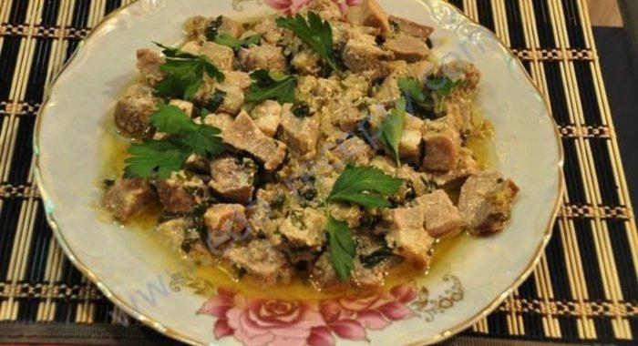 Вторые блюда из телятины рецепты простые и вкусные