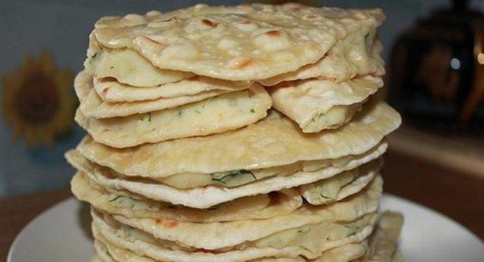 Татарские лепешки с картошкой рецепт с фото