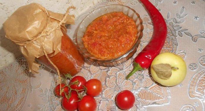 Рецепты аджики пошагово