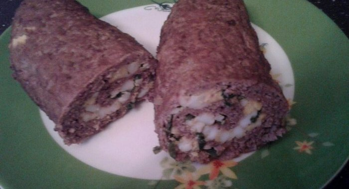 Рулет мяса рецепт с фото пошагово