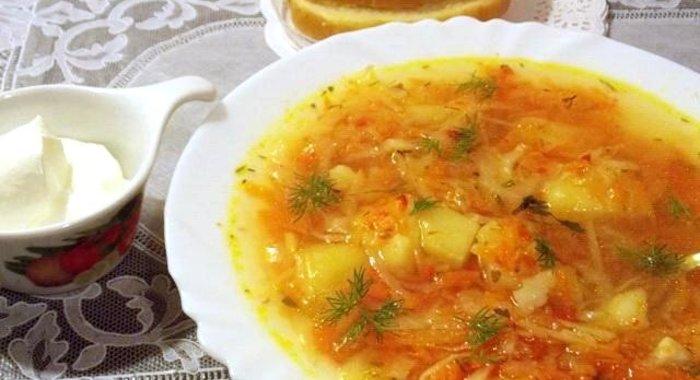 Щи свежей капусты пошаговый фото рецепт