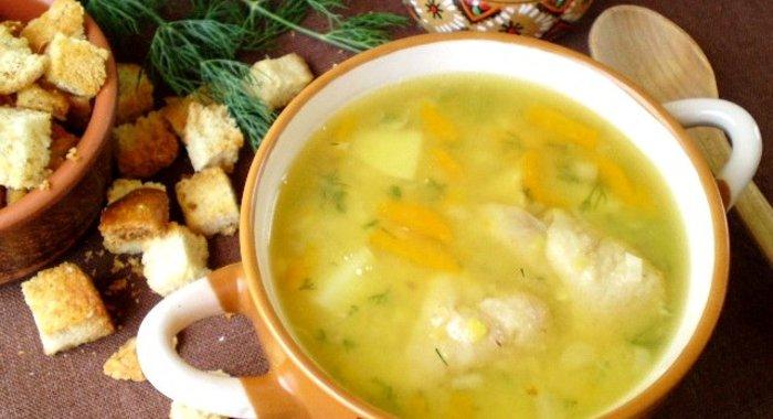 Суп гороховый с курицей в мультиварке пошаговый рецепт с фото