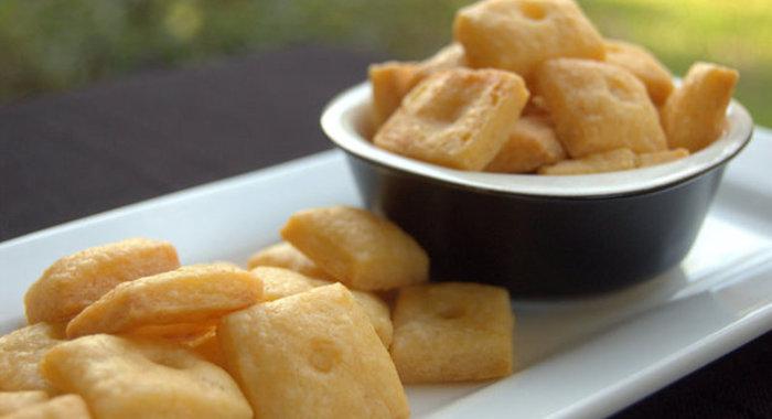 Сырные крекеры рецепт с фото