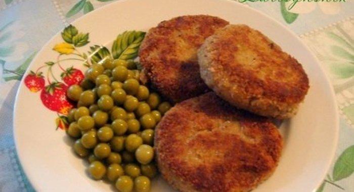 Рыбные котлеты из консервы рецепт с фото пошагово