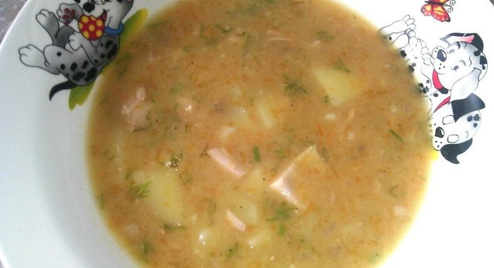 Густой гороховый суп рецепт пошагово в