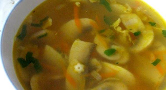 Грибной суп из свежих грибов рецепт пошаговый с фото