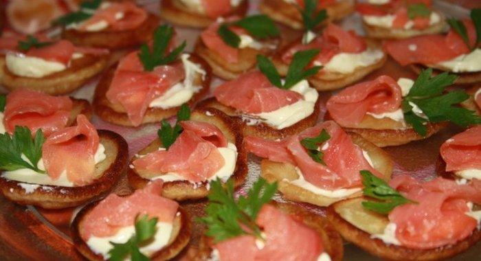 Бутербродыы с фото красная рыба