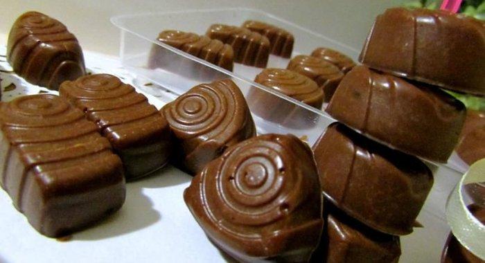 Как сделать шоколадные конфеты в домашних условиях с буквами