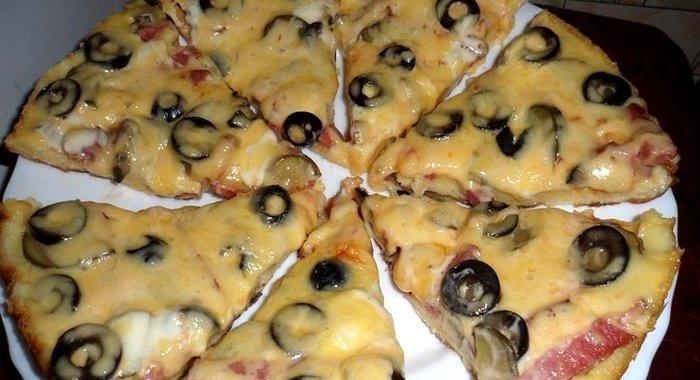 Вкусная пицца рецепты с пошагово на сковороде