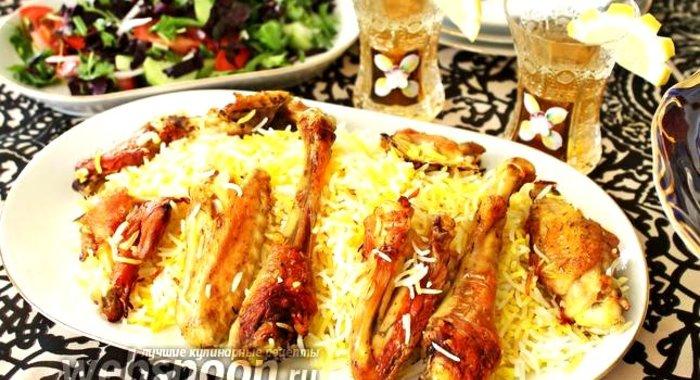 Плов по азербайджански рецепт с курицей
