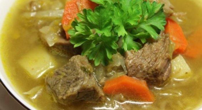 Картофельный суп из говядины рецепт