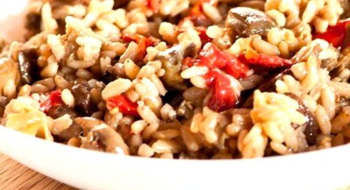 Плов грибной рецепт с пошагово в
