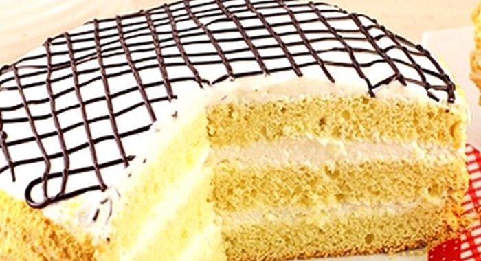 Торт бисквит крем сметанный рецепт
