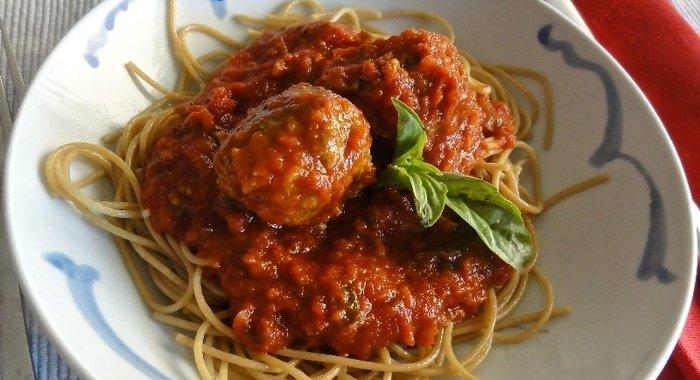 Итальянская паста в томатном соусе рецепт