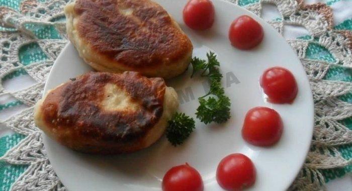 Рецепт пирожки с яйцом и рисом жареные рецепт с пошагово