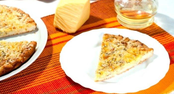 Пицца без сыра рецепт пошагово