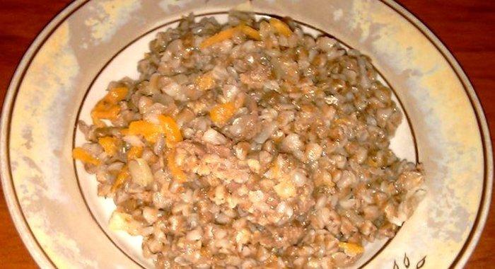Гречка с курицей рецепт с фото пошагово