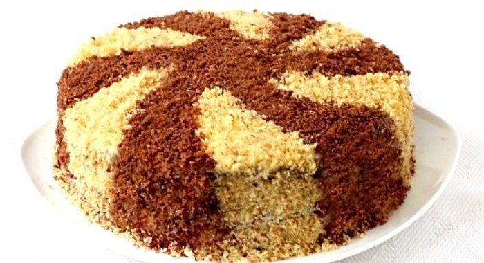 Классический торт сметанный рецепт с фото пошагово в домашних условиях