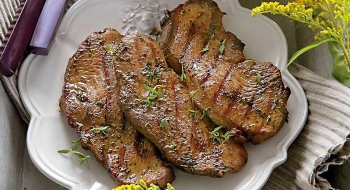Рецепты из индейки стейки в духовке