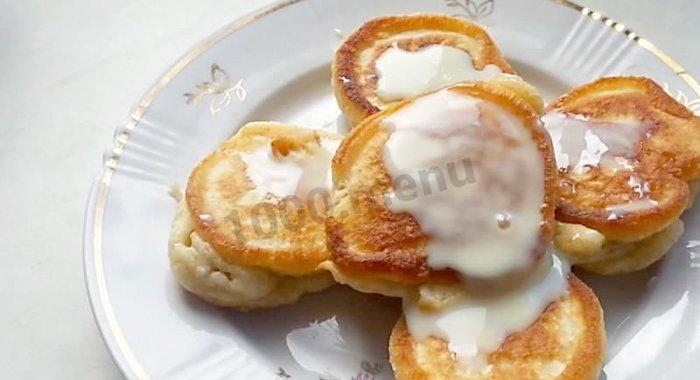 оладушки на ряженке пышные рецепт с фото