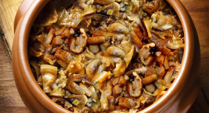 Рецепты солянок с опятами