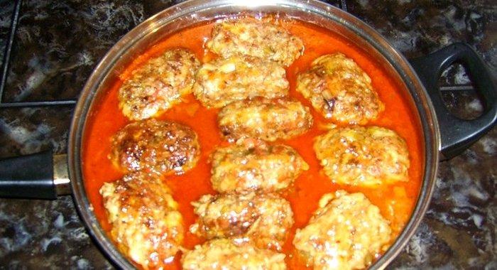 Рецепт голубцов ленивых с фаршем и рисом в кастрюле пошаговый с