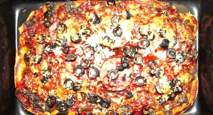 Пицца рецепт пошагово тонкая