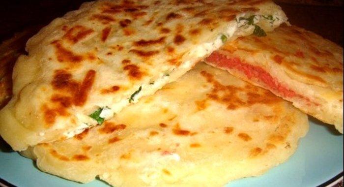 Рецепт лепешек на кефире на сковороде