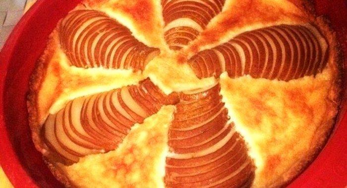 пирог со сливками рецепт фото пошагово