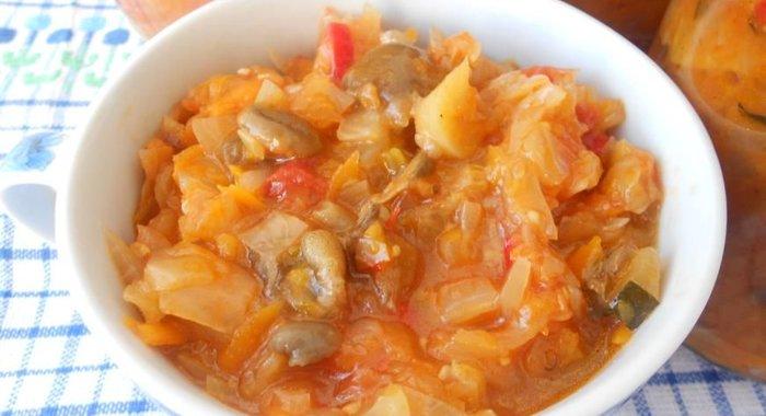 грибная солянка пошаговый рецепт с фото