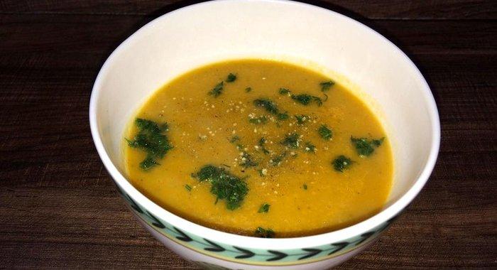 Гороховый суп пюре простой