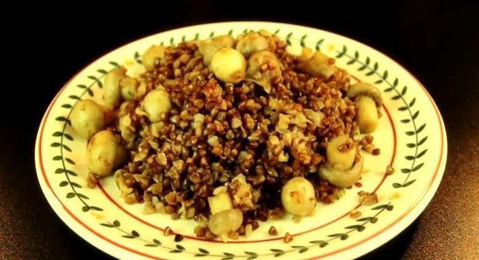 гречка по монастырски рецепт с фото
