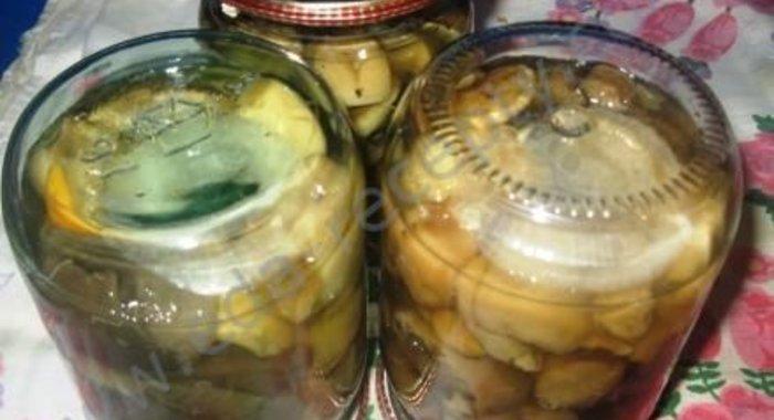 Рецепт вкусных грибов на зиму