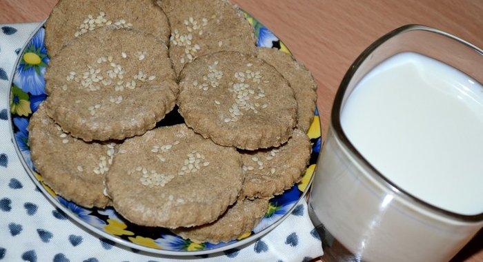 Самый простой рецепт овсяного печенья в домашних условиях