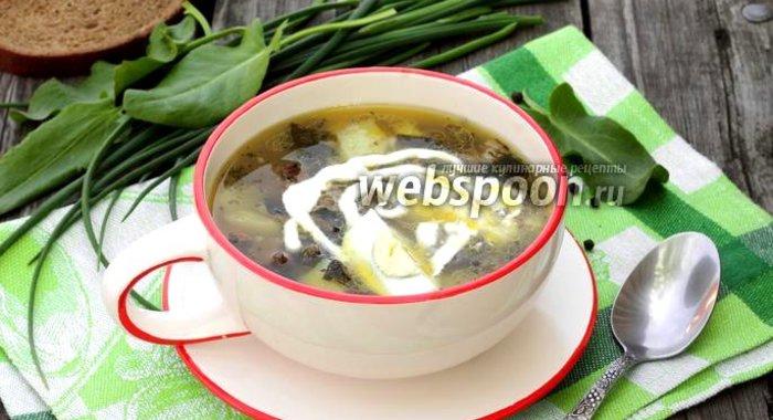 Рецепт зеленый борщ пошагово
