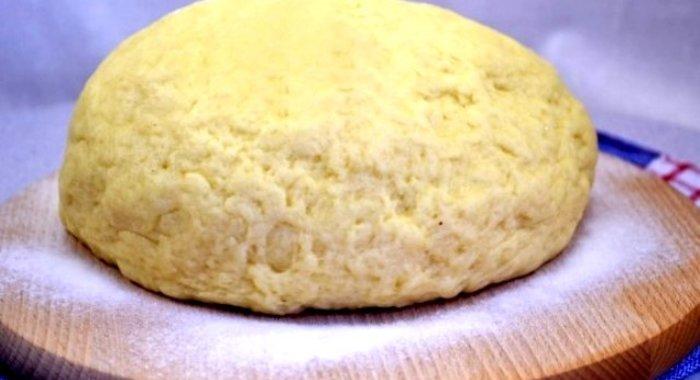 Как сделать тесто на твороге для пирожков