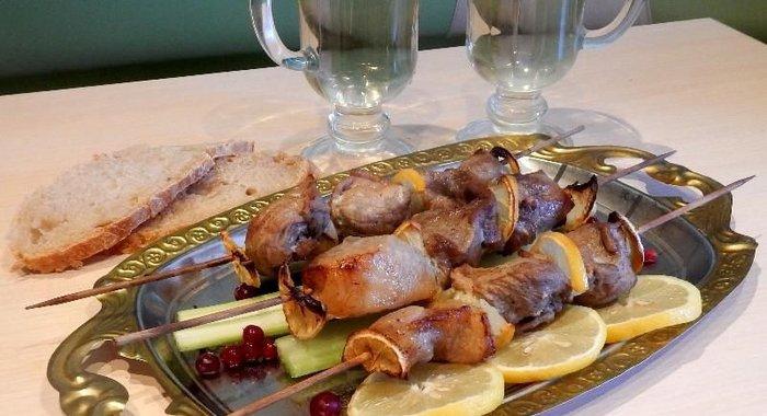 Шашлык из свинины с лимоном рецепт