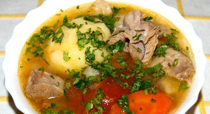 Узбекская кухня рецепты шурпа с фото пошагово