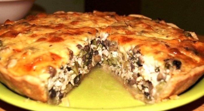 Мясной пирог с курицей рецепт