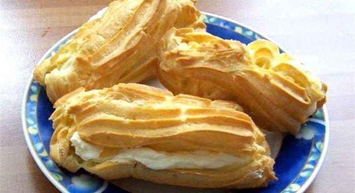 Рецепт пошагово с фото заварное пирожное в домашних условиях