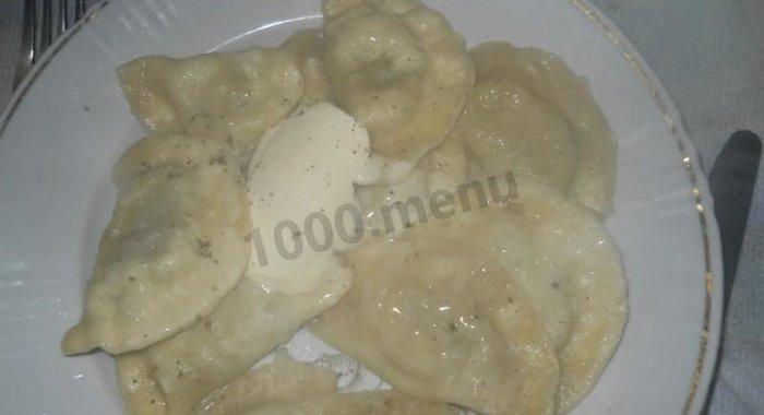 вареники с печенью рецепт с фото