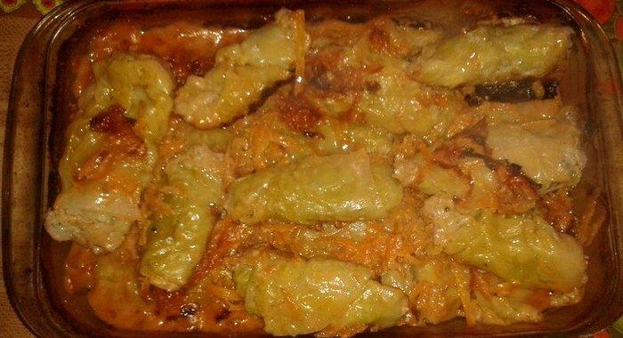 Голубцы куриные рецепт пошагово