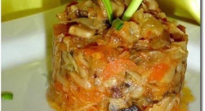 Рецепты блюд из овощей с фото пошагово