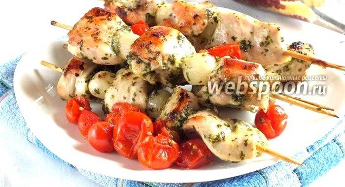 Куриные шашлычки на шпажках в духовке рецепт с пошаговым