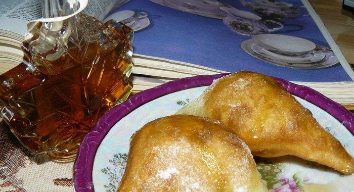Жареные пирожки на кефире пошаговый рецепт с