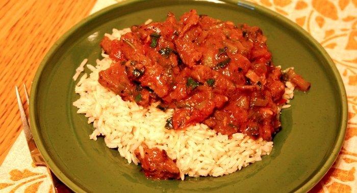 Азу с рисом рецепт с фото