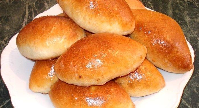 Тесто на печеные пирожки дрожжевое рецепт с пошагово в